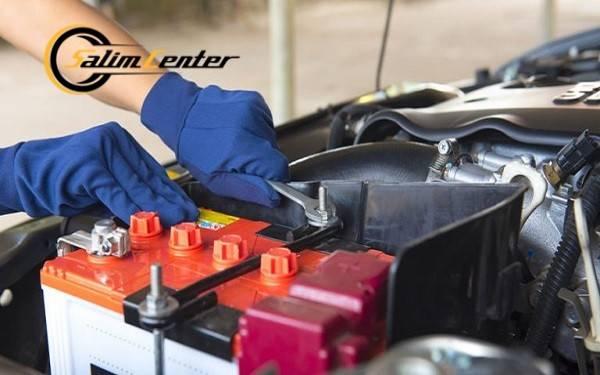 بررسی باتری خودرو
